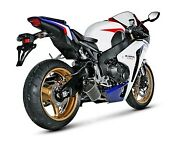 Exhaust Complete System Racing Akrapovic Road Carbon For Honda Cbr 1000 Rr 2013