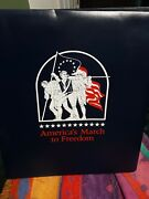 Americaand039s March To Freedom Postal Commemorative Society Us Mint Stamp Collection