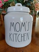Rae Dunn Momand039s Kitchen Cookie Jar Canister Container Farmhouse Ll Nwt 2019