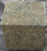 Solid Granite Cube – Vgc – Great For Decor – Paperweight – Bookend - Doorstop