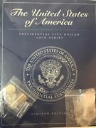 Liberia Usa Presidential Five Dollar Series Limited Edition Bklet 4 Coins Sealed