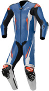 2020 Alpinestars Racing Absolute One-piece Motorcycle Track Leather Suit Blue