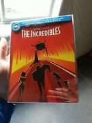 The Incredibles 4k+blu Ray Best Buy Steelbook+j Cover.light Scratches.no Dents.