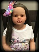 Reborn Baby Dolls, With Wig Only Custom Order, Angelica By Reva Schick