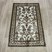 Yilong 2.5and039x4and039 Handknotted Silk Carpet Home Interior Oriental Floor Rug 088b