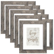 8x10 Picture Frame 5x7 Wood Wall Photo Frames Tabletop Decor Set Of 2/4/6/10