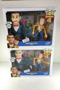 Toy Story 4 2-lot Benson And Woody Cowboy 2 Pack Exclusive Movie Edition Woody