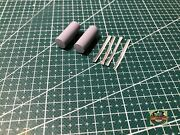 Custom Dcp Peterbilt Or Kw A Pair 1 Primer Fuel Tanks And Two Stripes 1/64