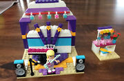 Lego Friends Andreas Bedroom 41009 And Rehersal Stage 41004