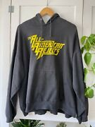 Vtg 00s All American Rejects Punk Rock Logo Band Tour Concert Hoodie L Xl