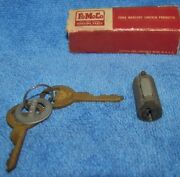 1940 S 1950 S Ford Trunk Lid Keys And Tumbler Fy308 Tag On Key