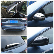 Rearview Mirror / Rear Wiper / Lamps Eyebrow Trim For Ford Escape Kuga 2020 2021