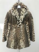 Vintage Fur Couture Beverly Hills Jacket Coat Size Small