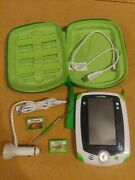 Leapfrog Leappad Tablet Green With Case And 2 Games Magic School Bus Dinosaurs