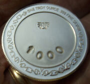 Spider Ozag.net One Troy Ounce .999 Fine Silver Round One Of A Kind No 1000 Rare