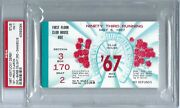 May 6 1967 Kentucky Derby Ticket Stub Psa - 7. 1st Proud Clarion