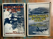 2 Book Lot Wwll In The Air Pacific And Europe James F. Sunderman Usaf Pb Ww2