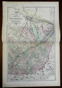 Central Quebec Canada Quebec City 1875 Walling And Tache Map