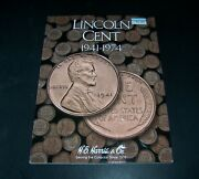 Complete 90 Coin Lincoln Cent Collection 1941 - 1974 Wheat And Memorial Harris2673