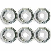 16 Set Of 6 🔥dually Steel Wheels For 1992-2007 Ford E350 E450 Oem Quality 3210