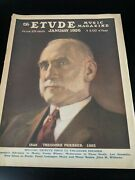 The Etude Music Magazine 1920and039s 1930and039s Lot Of 5