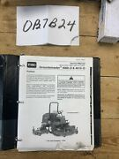 Toro Groundsmaster 4000-d And 4010-d Oem Service Manual
