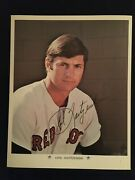 1971 Boston Red Sox Arco Gas Station Baseball Player Photo Cards 12 Set Nm-mt