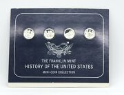 The Franklin Mint History Of The United States Mini Coin Collection