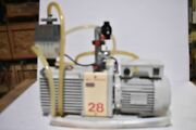Edwards E2m28 A373-16-903 Single-phase Rotary Vacuum Pump W/ Oil Mist Filter