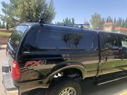 Ford F-250 Snugtop Camper Shell With Adjustable Roof Racks