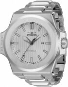 34729 Akula 58mm Menand039s Stainless Steel Watch