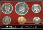 1976 Us Mint Clad Proof Set With Six Gem Coins In Original Mint Packaging