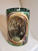 Toybiz Gimli With Battle Axe Action Figure-new Lord Of The Rings Collectible