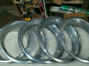 Trim Rings Wheel Hubcaps 14 1970and039s 1980and039s Chevy Ford Dodge Set Of 5 3 Deep X