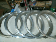 Trim Rings Wheel Hubcaps 14 1970and039s 1980and039s Original Set Of 5 Chevy Ford Dodge F