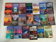 Big Lot 20 Catherine Coulter Books Fbi Thriller Series 1-19, 21 Near Complete