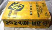 Mcmaster Carr Supply Catalog 49 Asbestos Carey Roofing Crane Packings Wwii Rare
