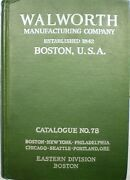 Walworth Valve Catalog Asbestos Packing Ideal Boilers 85 Magnesia Insulation
