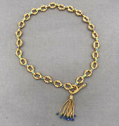 1995 The Sultanand039s Necklace Franklin Mint Designed By Shakira Caine 21k Plated