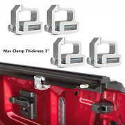 4pcs Tite Lok Truck Cap Topper Camper Shell Mounting Clamps Heavy Duty Aluminum