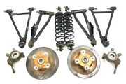 2015 Arctic Cat 700 Mud Pro Efi Front A-arms With Shock Spindle Hub Oem Set