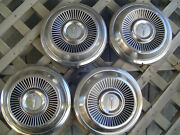 65 66 67 68 Plymouth Gtx Satellite Belvedere Hubcaps Wheel Covers Center Caps