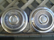 Two Vintage Max Wedge Plymouth Gtx Dodge Chrysler Hubcap Wheel Cover Center Cap