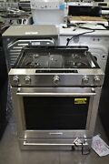 Kitchenaid Ksgg700ess 30 Stainless Slide In Gas Range Nob 106478
