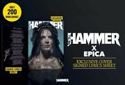 Metal Hammer March 2021 Epica Special Edition Cover + Signed Lyric Sheet