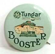 Ge Tungar Battery Charger Booster 1.25 Pinback Button Radios General Electric