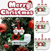 2020 Marry Christmas Hanging Ornaments Family Diy Personalized Xmas Tree Decor