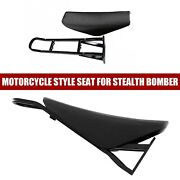 Us Motorcycle Style Seat For Stealth Bomber Electric Mountain Bike Beach Cruiser