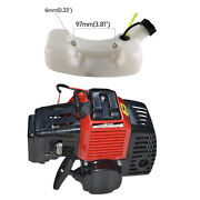 49cc 50cc 2 Stroke Gas Engine Motor + Fuel Tank For Lawn Mower Scooter Go Kart