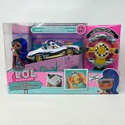 New L.o.l Surprise Rc Wheels Downtown Doll Fully Functioning Car Limited Edition